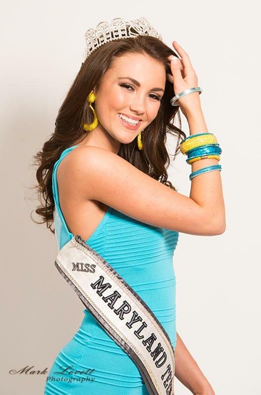 Hannah Brewer, Miss Maryland , Portrait 8b