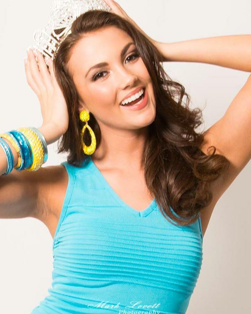 Hannah Brewer, Miss Maryland , Portrait 3