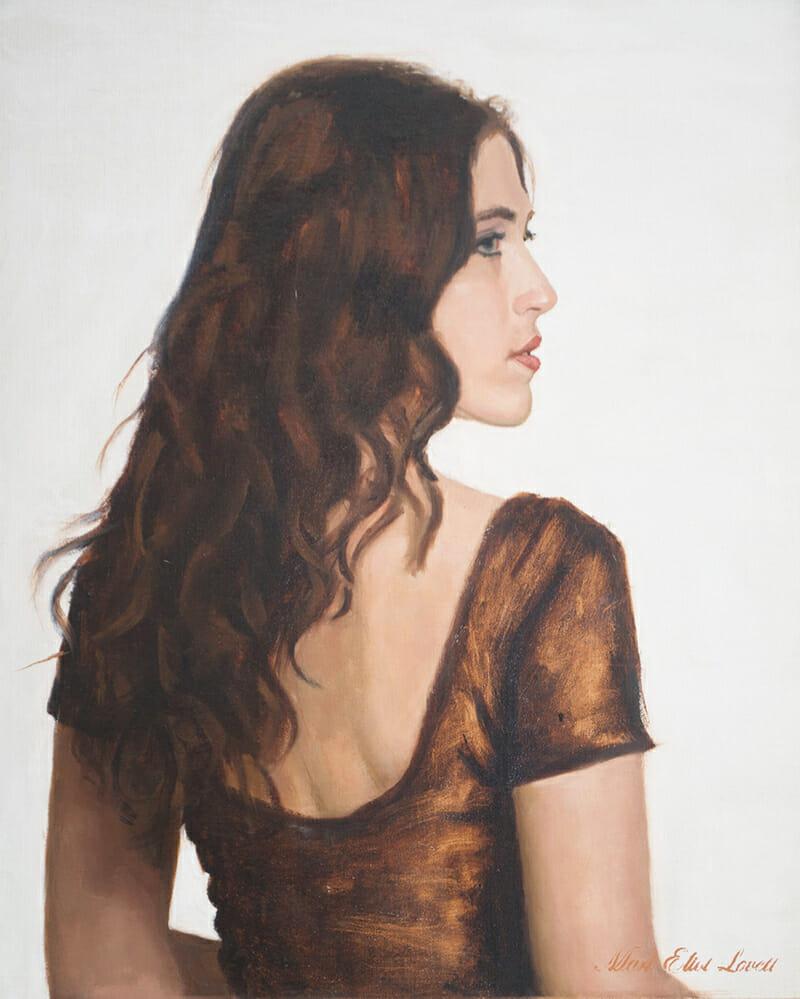 Oil Painting Portraits on Canvas by Mark Lovett at MarkLovettStudio.com