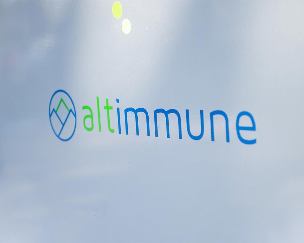 Altimmune branding image bethesda headshots