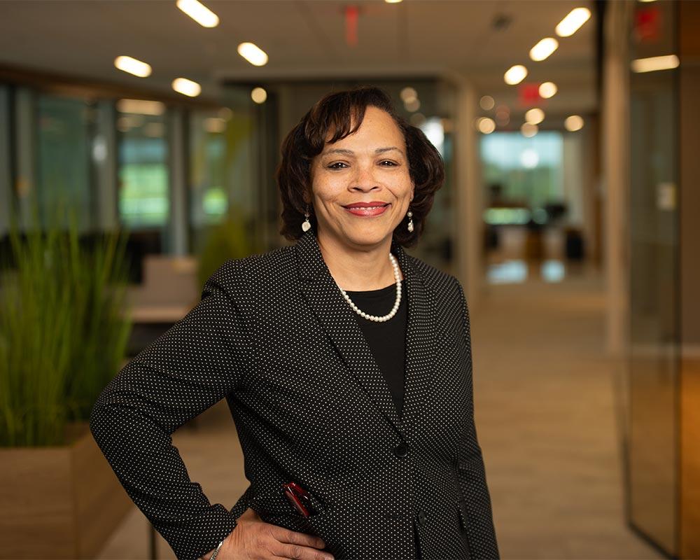 executive business black female headshot