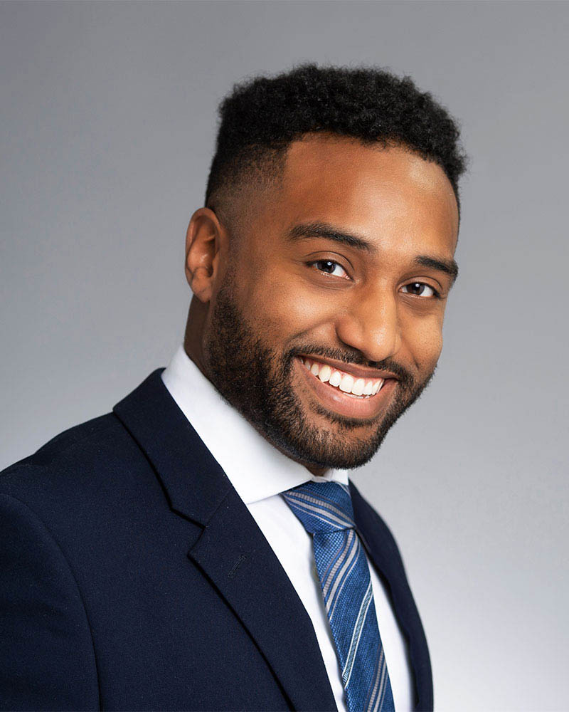 executive business black male headshot